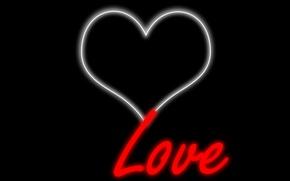 Picture love, heart, color, positive, love, brightness