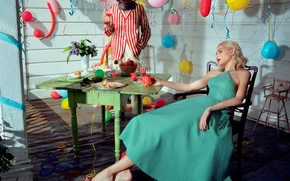 Picture balls, Jessica Stem, 2015, birthday, Numero, feast, Jessica Stam