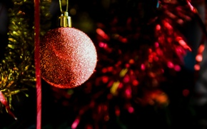 Picture toy, Shine, tree, ball, New year, decoration, holidays, toy, holidays, New Year, decoration, shine