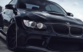 Picture BMW, black, e92