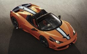 Picture Ferrari, Orange, 458, Spider, Supercar, 2015, Speciale A, Hansen TYPE