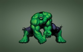 Picture green, graphics, monster, Creek, Hulk, hulk