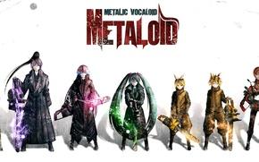 Picture Art, Vocaloid, Hatsune Miku, Metaloid, Vokaloid