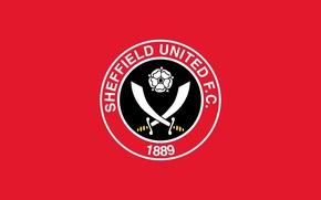 Picture wallpaper, sport, logo, football, Sheffield United FC