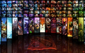 Picture sign, logo, heroes, dota, table, list, all the characters, dota2, location