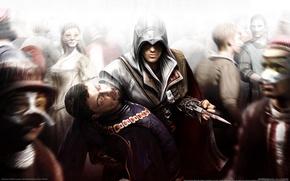 Wallpaper murder, assassins creed