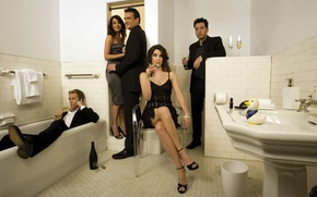 Picture the series, Barney Stinson, How I met your mother