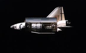 Picture space, Atlantis, Shuttle