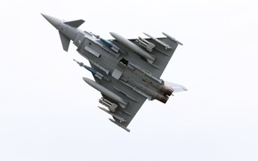 Picture weapons, army, the plane, Eurofighter Typhoon ZK356