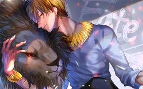 Picture Leo, anime, art, guy, Gilgamesh, Fate stay night, Archer