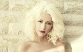 Picture blonde, singer, Christina Aguilera, Christina Aguilera
