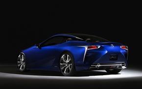 Picture blue, Lexus, exhibition