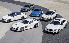 Picture Mercedes-Benz, cars, AMG, series, lineup