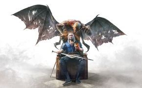 Wallpaper Monster, The Witcher, The Witcher, Geralt, DLC, CD Projekt RED, The Witcher 3: Wild Hunt, ...