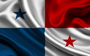 Picture flag, Panama, panama