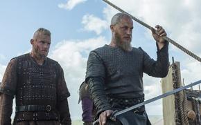 Picture Vikings, The Vikings, Travis Fimmel, Ragnar Lothbrok, Alexander Ludwig, Bjorn