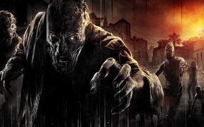 Picture Sunset, Home, Look, Zombies, The situation, Techland, Warner Bros. Interactive Entertainment, Dying Light, Dying Light
