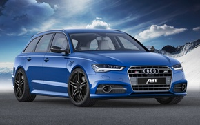 Picture ABBOT, Before, 2014, RS 6-R, avant, Audi, Audi, universal