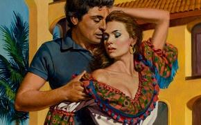 Picture figure, painting, Illustrator, Ed Tadiello