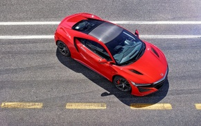 Picture supercar, Honda, NSX