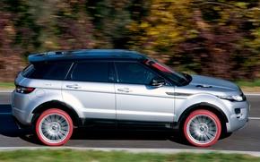 Picture auto, view, SUV, Land Rover, Range Rover, side, Evoque, Marangoni, HFI-R