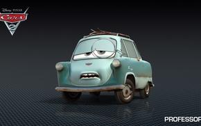 Picture cartoon, cars, pixar, disney, professor z