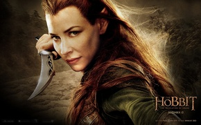 Wallpaper elf, Mirkwood, Evangeline Lilly, Murkwood, The Hobbit: The Desolation Of Smaug, The Hobbit: The Desolation ...