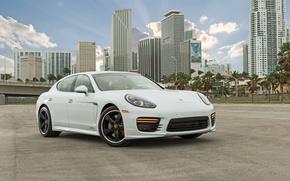 Picture Porsche, Panamera, sports car, GTS