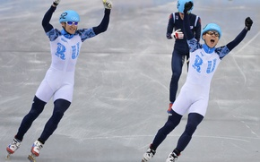 Picture Russia, Sochi 2014, The XXII Winter Olympic Games, Viktor Ahn, short track, Vladimir Grigoriev