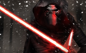 Picture Movie, Star Wars Episode VII: The Force Awakens, Kylo Ren