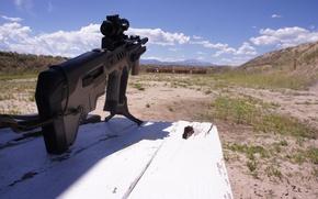 Picture machine, rifle, the shooting range, assault, Tavor, TAR-21
