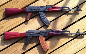 Picture weapons, machine, Kalashnikov, Kalash, AK-47, AKM