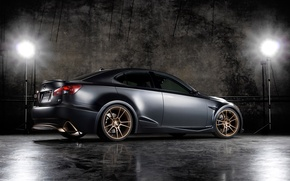 Picture black, Lexus, IS-F