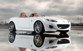Picture reflection, concept, Mazda, superlight