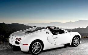 Wallpaper Bugatti, Veyron, white, Bugatti