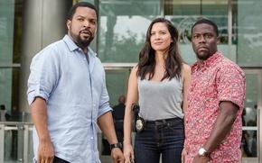 Wallpaper frame, Ice Cube, Olivia Munn, Olivia Munn, Kevin Hart, Comedy, Ride Along 2, Kevin HART, ...