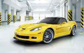 Wallpaper Chevrolet, Corvette