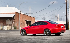 Picture BMW, BMW, red, red, e92