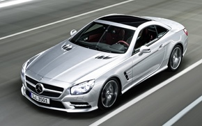 Picture speed, mercedes, car, 2012, Mercedes, benz, amg, rides, sports, sl350, package