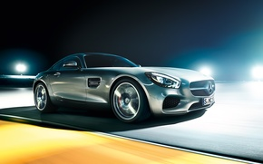 Picture Concept, Mercedes-Benz, Car, AMG, Track, 2015, Ligth