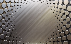 Picture metal, pattern, silver, metal, texture, background, pattern, steel