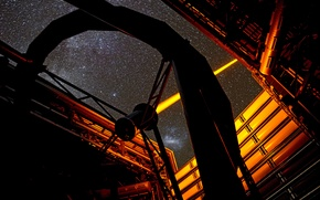 Picture laser, structure, Observatory, laser, Paranal Observatory, ESO's, PARLA
