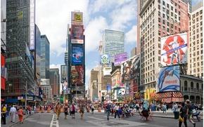 Picture city, street, new york