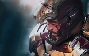 Picture superhero, art, Tony stark, tony stark, iron man 3, iron man 3