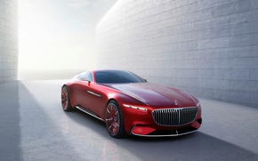 Wallpaper coupe, electric, the concept, Maybach