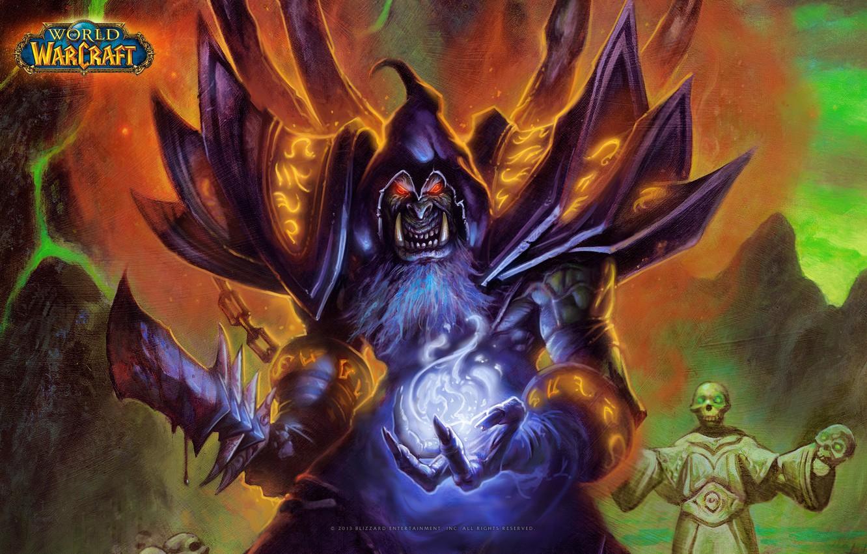 Wallpaper The Demon Demon Orc World Of Warcraft Warlock Ork