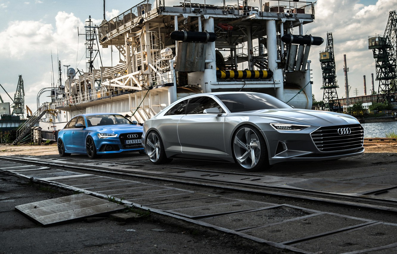 Photo wallpaper concept, Audi a9, Sebastian Ladan, Audi c7, Audi rs6