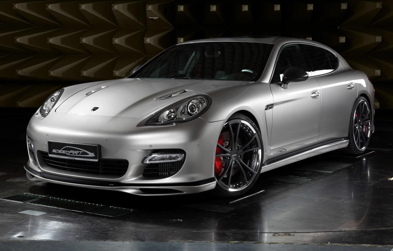 Photo wallpaper tuning, silver, Porsche, silver, Porsche, panamera, Panamera, SpeedART