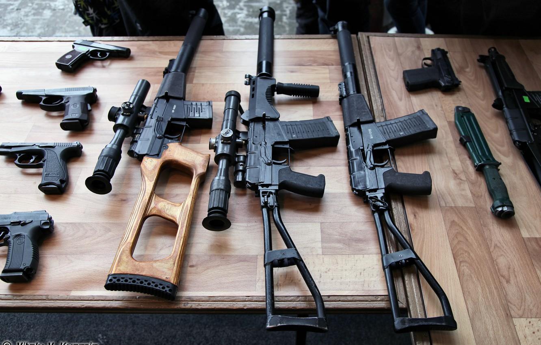Photo wallpaper weapons, Russia, VSS, SHAFT