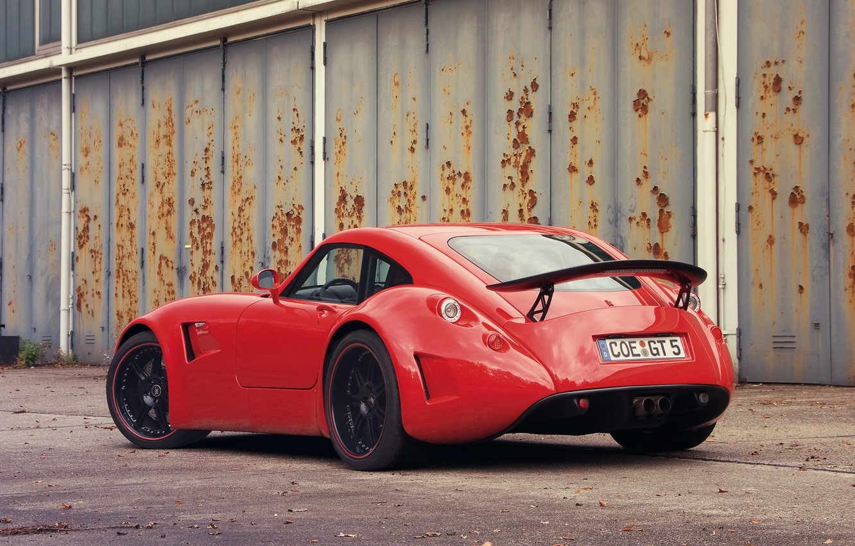 Photo wallpaper Red, Car, Wiesmann GT MF5